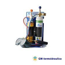 Kit Saldatura Portatile Acetilene Euro Ossigeno SK555 Cannello con Occhiali