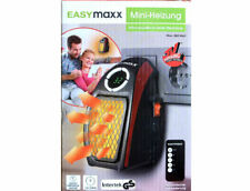 Elektrische Mini-Heizung EASYMAXX Thermostat Fernbedienung Kamin-Optik NEU