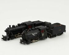 Lot of 2 Vintage Mantua HO Scale Steam Train Locomotive Engines with Tinder