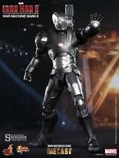 HOT TOYS WAR MACHINE MARK II Sixth Scale Figure Diecast Limited Edition IRON MAN