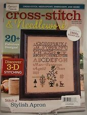 Cross Stitch & Needlework Magazine November 2014 Mary Sanderson Sampler New