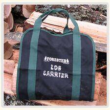 "32"" long X 15"" wide Firewood bag  Log carrier Canvas Double stitched Heavy duty"