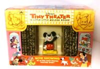1993 Disney's Tiny Theatre 10 Little Golden Books With Mickey Mouse Figure