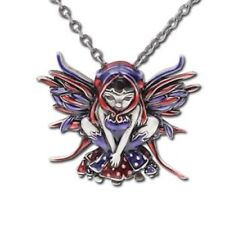 POLKADOT MUSHROOM Fairy Necklace Jasmine Becket-Griffith Strangeling Pendant