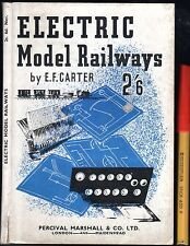 C1930s ELECTRIC MODEL RAILWAYS 79 page hardcover in VGC