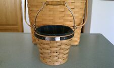 Longaberger Collector's Club 2004 Gathering Pail Basket w/liner, prot & box New