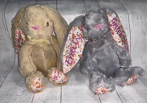 Personalised Bunny Gift Easter Birth Newborn Baby Shower Lockdown Teddy Boy/Girl