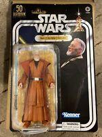 Star Wars Ben Obi-Wan Kenobi Black Series LucasFilm 50th Amazon New Sealed Box