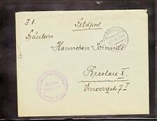 1916 WWI German Fieldpost from Hospital for Infectious Diseases