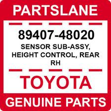 89407-48020 Toyota OEM Genuine SENSOR SUB-ASSY, HEIGHT CONTROL, REAR RH
