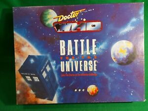 Rare: Doctor Who: Battle for the Universe game, 1989. VGC, complete.