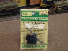 Nwsl Ho 14-1 Ratio Gearbox 0.4 Mod. 3 mm Axle, 2.4 mm Input Shaft 211-6