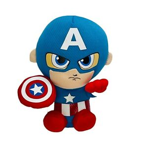 Ty Beanie Babies Collection Marvel Captain America Plush Super Hero Stuffed Toy