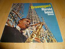 HAROLD LAND QUINTET-Grooveyard VINYL LP DRUM BREAKS