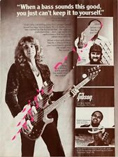 Ted Nugent Kiswiney Downbeat Trade Press Advert