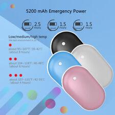 Cobbles hand warmer 5200mAh Portable USB Power Bank Rechargeable Pebble Pocket