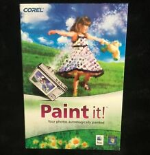 Corel Paint It (Windows PC & Mac) Brand New Unused In Retail Box