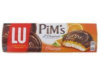 lot destockage 9 paquets   Pim's l'Original Orange, Lu 150g