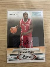 JERMAINE TAYLOR AUTOGRAPH ROOKIE 2009-10 PRESTIGE 232 #/699 HOUSTON ROCKETS