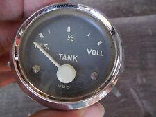 Classic Very Rare VW / Porsche Jet Cockpit fuel gauge VDO    C#14