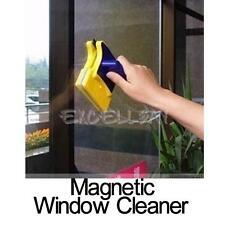 Double côté fenêtre magnétiques cleaner raclette verre essuie-glace surface utile E0Xc