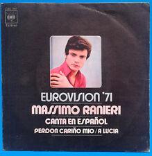 EUROVISION.MASSIMO RANIERI sung in SPANISH .1971(Italy entry).Perdon cariño mio