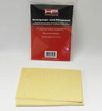 *NEU* 1x HP Ledertuch Lederlappen Synthetik Leder Lappen Tuch Synthetikleder