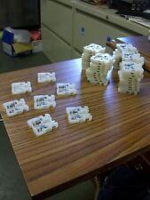 Allen Bradley BUL 1492 Style H White Terminal Blocks 57 Count