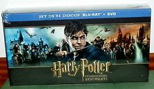 HARRY POTTER COLLECTION HOGWARTS 31 DISCS BLU-RAY+DVD+3D+EXTENDED NEW R2