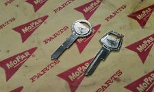 VALIANT DODGE LANCER PLYMOUTH CHRYSLER NOS KEY BLANKS MOPAR 59 60 61 61 63 64 65