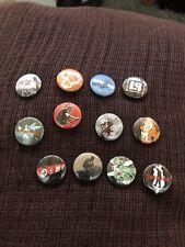 "12 LINKIN PARK Buttons 1"" Pinbacks Pins Alternative Rap Rock Band Lot Of 12"
