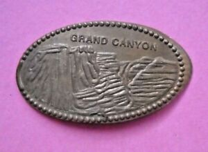Grand Canyon elongated penny Arizona USA cent souvenir coin
