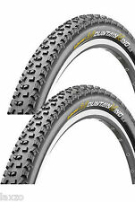 2 x Continental Mountain King II MTB Tyres Pair 26 x 2.2 Wired MTB Bike Bicycle