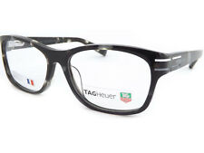 be692af6d8e TAG Heuer men s PHANTOMATIC 53mm Grey Tortoise RX Glasses Frame TH0534 002
