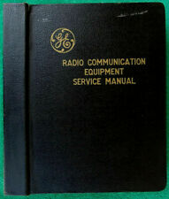 1958 GE Radio Communication Equipment Transmitters & Receivers Service Manual