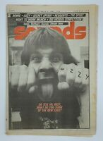 Sounds October 4 1980 Ozzy Cover Lizzy Residents The Upset  Music Magazine