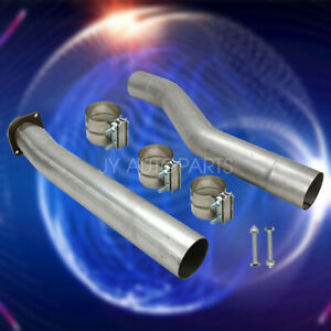 For 03-07 Ford Powerstroke F250 F350 Muffler and Cat Pipe Kit 6.0L Exhaust