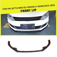FRP Car Front Lip Spoiler Wing Fit for VW Jetta MK6 GLI Sedan 4-Door 2013-2015