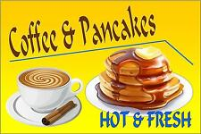American Retro Style Diner Sign Cafe Sign Coffee & Pancake Retro Sign Kitchen