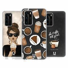 HEAD CASE DESIGNS FRENCH CAFE SOFT GEL CASE FOR HUAWEI PHONES