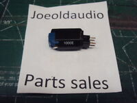 Shure 1000E Cartridge & Stylus. Used. Tested Sounds Great.