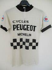 Maillot PEUGEOT ESSO MICHELIN 1977 Bernard THEVENET jersey trikot vintage maglia