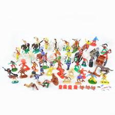 Konvolut Figuren Indianer Cowboys Western Wildwest Vintage - zB. Timpo Toys Eri