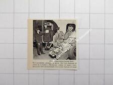 """1931 M. Lantsheere, journaliste Belge,dans la soute en """"colis"""" Londres-Bruxelles"""