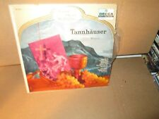 TANNHAUSER - WAGNER - GRAND OPERA HIGHLIGHTS rare LP Vinyl (Decca) vg+