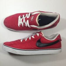 Rare Mavrk Low 2 Men's NIKE 6.0 Sneakers Red Canvas Size 13