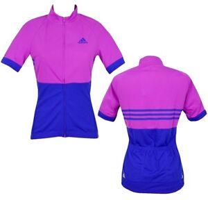 New adidas Rsp Ladies Wheel Jacket Bicycle Jersey Bike Cycling Shirt Women Pink