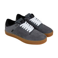 Osiris Techniq Vlc 1342 1682 Mens Gray Suede Skate Inspired Sneakers Shoes 8
