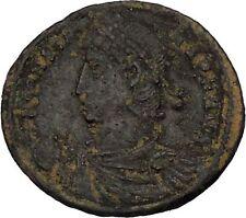Constans Gay Emperor Constantine the Great son RARE Ancient Roman Coin i45975