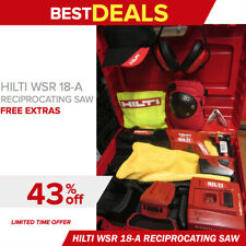 Hilti Wsr 18 A Reciprocating Saw In Great Shape Free Extras Fast Ship